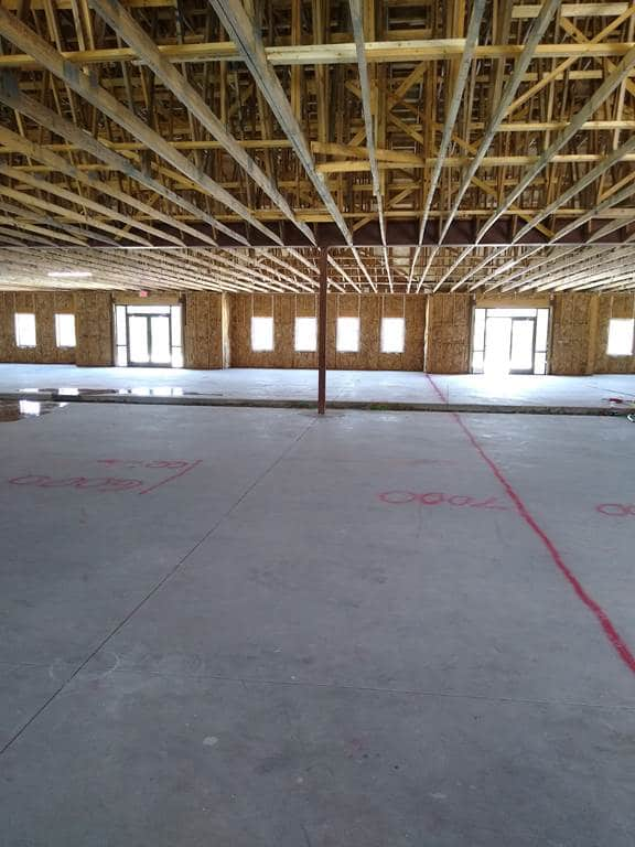 JFM Before - Shell Space Finish-outs - Commercial Tenant Improvement Project