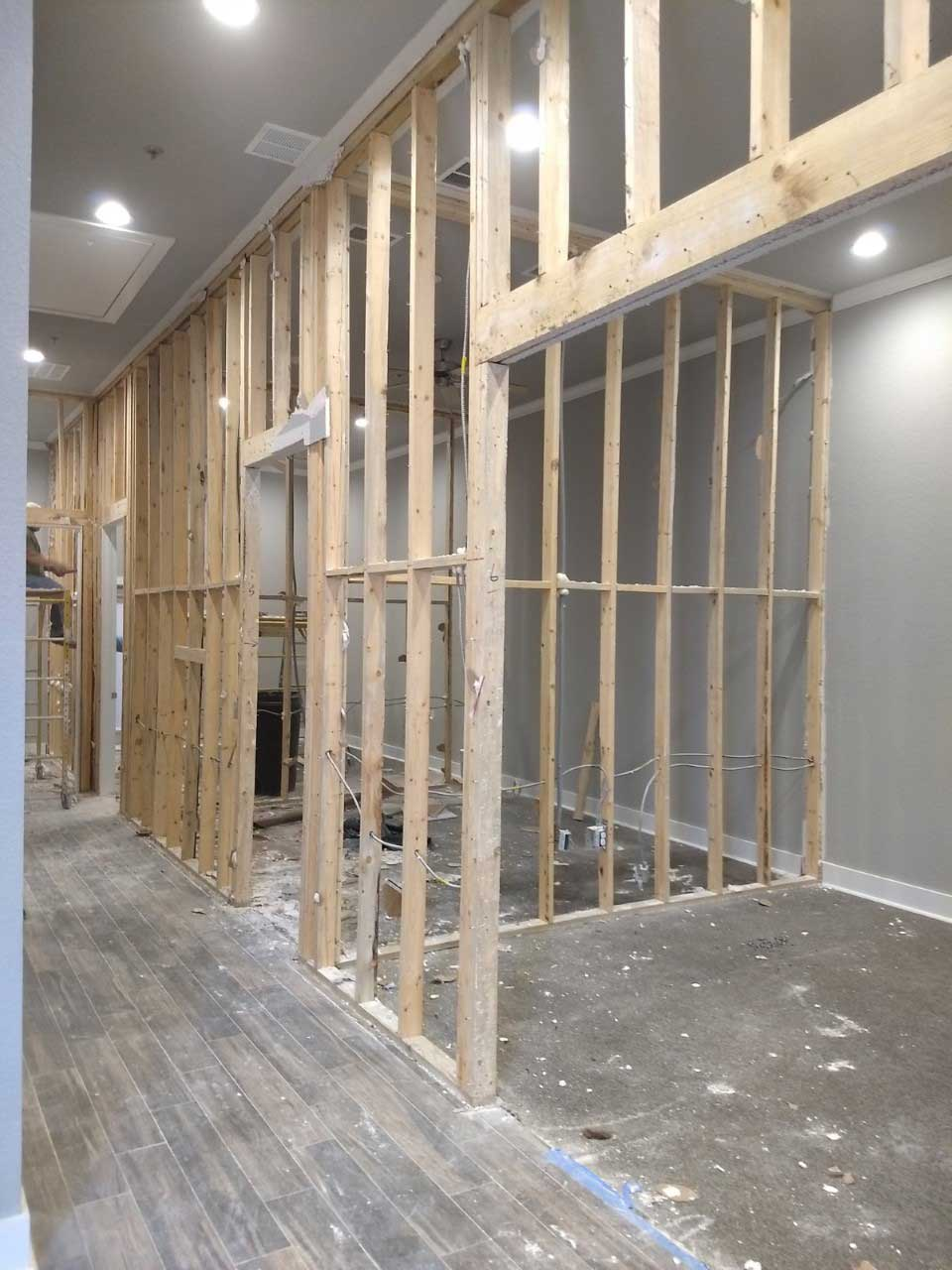 RX- Pharma During Office Space Renovation - Remodel Existing Locations