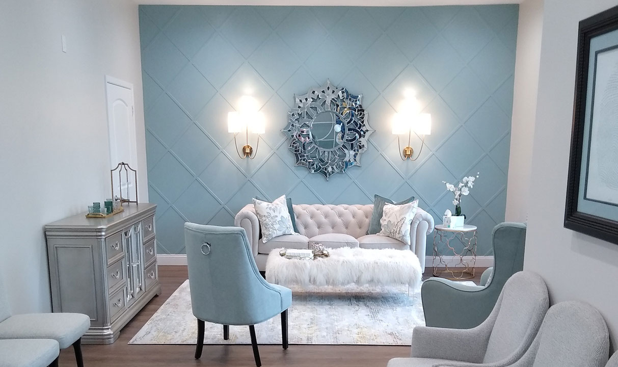 Gorgeous Feature Wall - Tenant Improvement Service